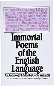 Immmortal poems of the English language : an…