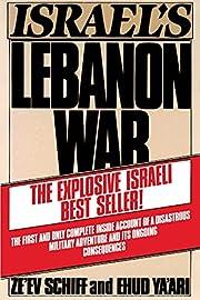 Israel's Lebanon War – tekijä: Ze'ev…