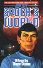 Spock's World by Diane Duane