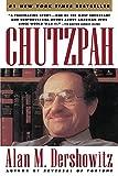 Chutzpah / Alan M. Dershowitz