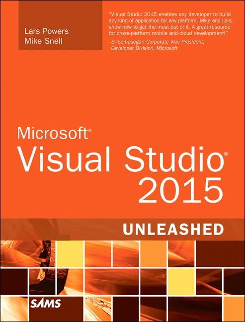 PDF] Microsoft Visual Studio 2015 Unleashed (3rd Edition