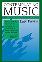 Contemplating Music: Challenges to…