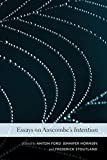 Essays on Anscombe's Intention / edited by Anton Ford, Jennifer Hornsby, Frederick Stoutland