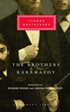 The Brothers Karamazov (Everyman's Library)…