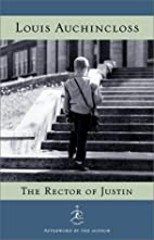 The Rector of Justin (Modern Library) by…