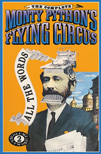 Image for The Complete Monty Python's Flying Circus : All the Words, Volume 2
