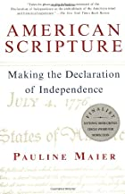American Scripture: Making the Declaration…