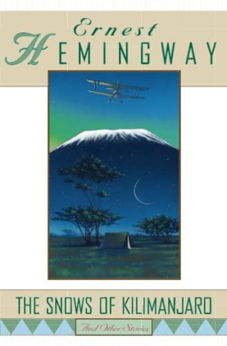 the snows of kilimanjaro summary