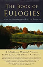The Book Of Eulogies by Phyllis Theroux