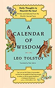 A Calendar of Wisdom: Daily Thoughts to…
