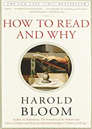 How to Read and Why por Harold Bloom