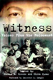 Witness: Voices from the Holocaust de Joshua…