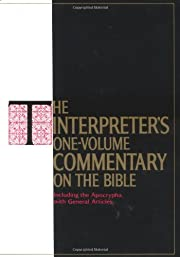 The Interpreter's One-Volume Commentary on…
