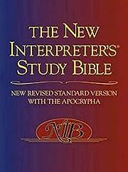 The New Interpreter's Study Bible: New…