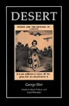 Desert (Studies in Moral, Political, and…