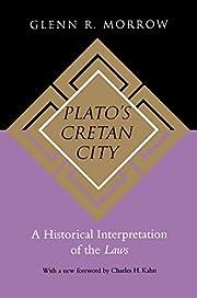 Plato's Cretan City av Glenn R. Morrow