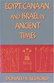 Egypt, Canaan, and Israel in Ancient Times…