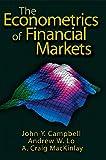 The econometrics of financial markets / John Y. Campbell, Andrew W. Lo, A. Craig MacKinlay