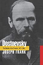 Dostoevsky: the mantle of the prophet,…
