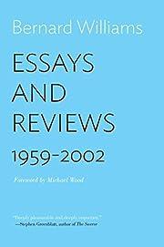 Essays and Reviews: 1959–2002 de Bernard…