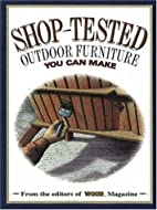 Shop-Tested Outdoor Furniture You Can Make…