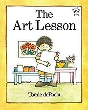 The Art Lesson (Paperstar Book) av Tomie…