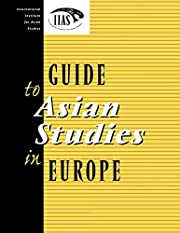 Guide to Asian Studies in Europe por…