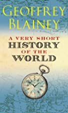 A Very Short History of the World by…