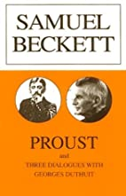 Proust by Samuel Beckett