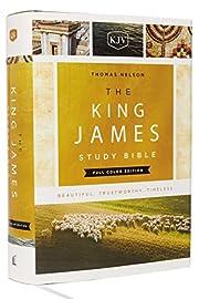 KJV, The King James Study Bible, Cloth over…