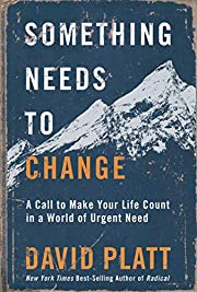 Something Needs to Change: A Call to Make…