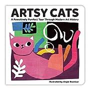 Artsy Cats Board Book por Mudpuppy