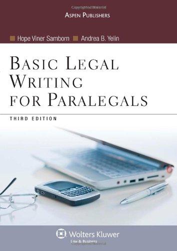 legal writing and analysis murray desanctis