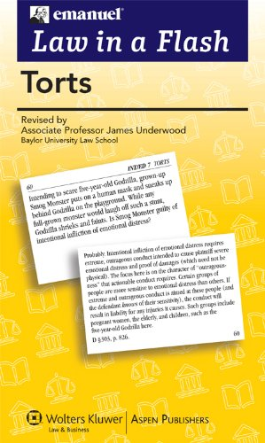 Torts - Beyond the Text: Study Guides for First-Year Classes