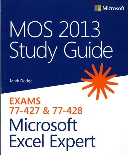 PDF] MOS 2013 Study Guide for Microsoft Excel Expert | Free