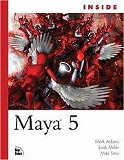 Inside Maya 5 de Mark Adams