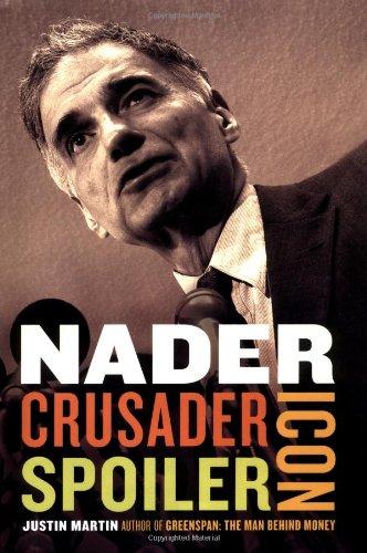 Nader: Crusader, Spoiler, Icon, Martin, Justin