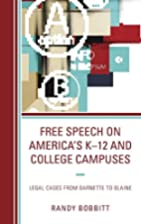 Free Speech on America's K-12 and…