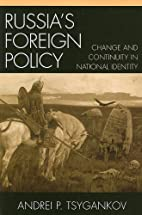 Russia's Foreign Policy: Change and…