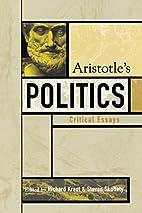 Aristotle's Politics: Critical Essays…