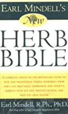 Earl Mindell's New Herb Bible by Earl…