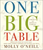 One Big Table: 600 recipes from the…