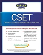Kaplan CSET: California Subject Examination…