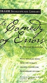 The Comedy of Errors (Folger Shakespeare…