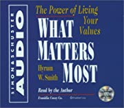 What Matters Most: The Power Of Living Your…