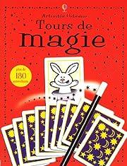 Tours de magie (avec autocollants)