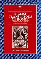 English Translators of Homer: From George…