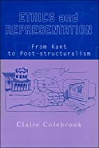Ethics and representation : from Kant to…