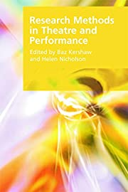 Research Methods in Theatre and Performance…