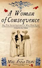 Woman of Consequence (Dido Kent Mysteries 3)…